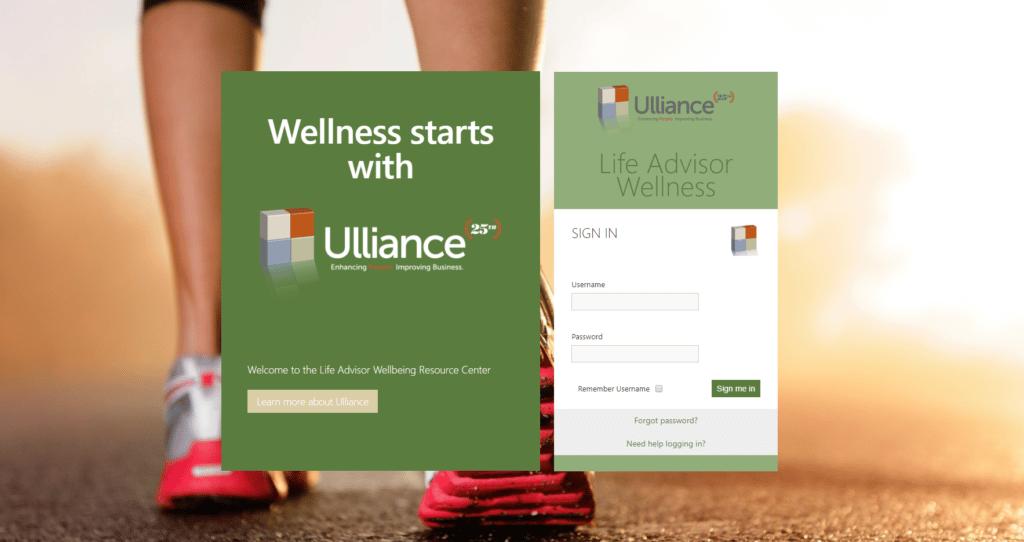 Life Advisor Wellness Portal